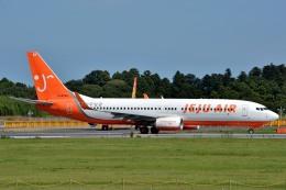サンドバンクさんが、成田国際空港で撮影したチェジュ航空 737-8Q8の航空フォト(飛行機 写真・画像)