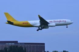 パンダさんが、成田国際空港で撮影したエアー・ホンコン A330-343(P2F)の航空フォト(飛行機 写真・画像)