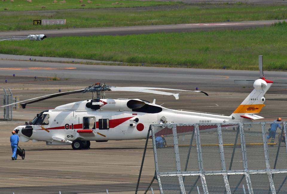 鈴鹿@風さんの三菱重工業 Mitsubishi SH-60L (8501) 航空フォト