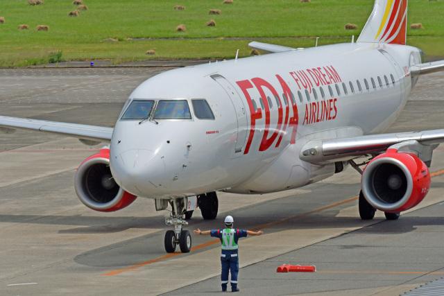 航空フォト:JA12FJ フジドリームエアラインズ E175