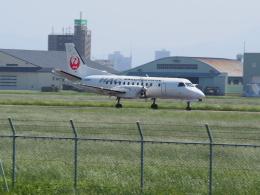 熱血男子さんが、札幌飛行場で撮影した北海道エアシステム 340B/Plusの航空フォト(飛行機 写真・画像)
