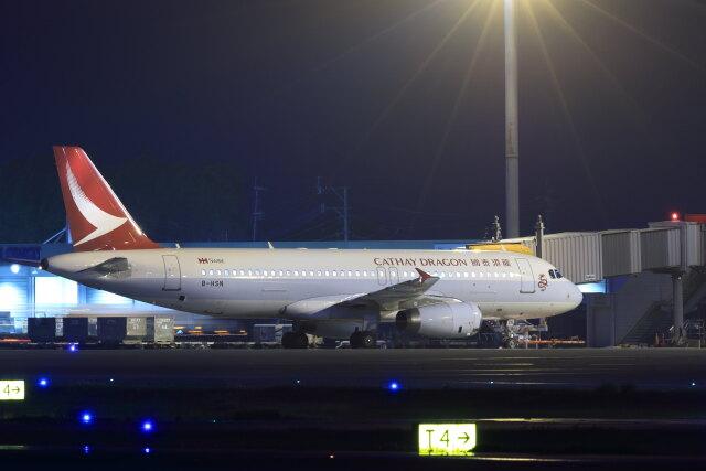 kengo.k@RJFTさんが、熊本空港で撮影したキャセイドラゴン A320-232の航空フォト(飛行機 写真・画像)