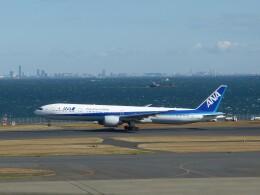 トタさんが、羽田空港で撮影した全日空 777-381/ERの航空フォト(飛行機 写真・画像)