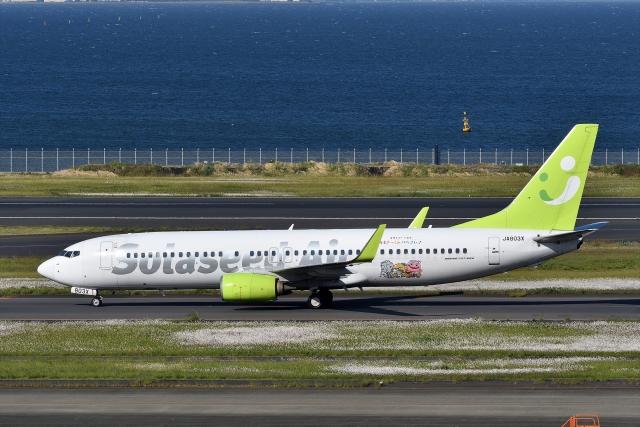 航空フォト:JA803X ソラシド エア 737-800