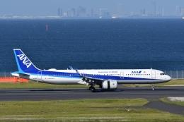 qooさんが、羽田空港で撮影した全日空 A321-272Nの航空フォト(飛行機 写真・画像)