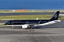 qooさんが、羽田空港で撮影したスターフライヤー A320-214の航空フォト(飛行機 写真・画像)