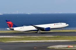 qooさんが、羽田空港で撮影したデルタ航空 A330-941の航空フォト(飛行機 写真・画像)