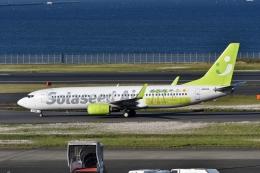 qooさんが、羽田空港で撮影したソラシド エア 737-86Nの航空フォト(飛行機 写真・画像)