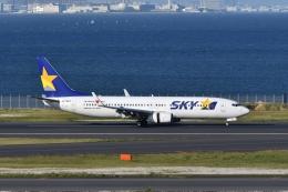 qooさんが、羽田空港で撮影したスカイマーク 737-86Nの航空フォト(飛行機 写真・画像)