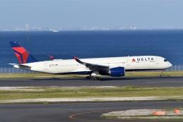 qooさんが、羽田空港で撮影したデルタ航空 A350-941の航空フォト(飛行機 写真・画像)