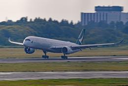 Souma2005さんが、成田国際空港で撮影したキャセイパシフィック航空 A350-1041の航空フォト(飛行機 写真・画像)