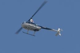 500さんが、自宅上空で撮影した日本法人所有 R44 Raven IIの航空フォト(飛行機 写真・画像)