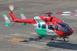 ゴンタさんが、名古屋飛行場で撮影した岡山市消防航空隊 BK117C-2の航空フォト(飛行機 写真・画像)
