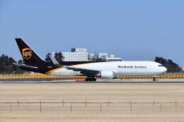 ポン太さんが、成田国際空港で撮影したUPS航空 767-34AF/ERの航空フォト(飛行機 写真・画像)
