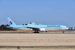 ポン太さんが、成田国際空港で撮影した大韓航空 777-3B5/ERの航空フォト(飛行機 写真・画像)
