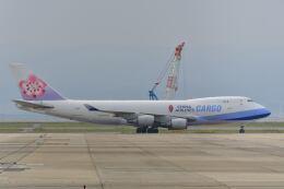 天心さんが、関西国際空港で撮影したチャイナエアライン 747-409F/SCDの航空フォト(飛行機 写真・画像)