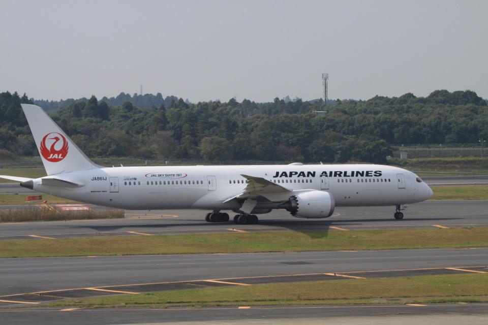 rokko2000さんの日本航空 Boeing 787-9 (JA861J) 航空フォト