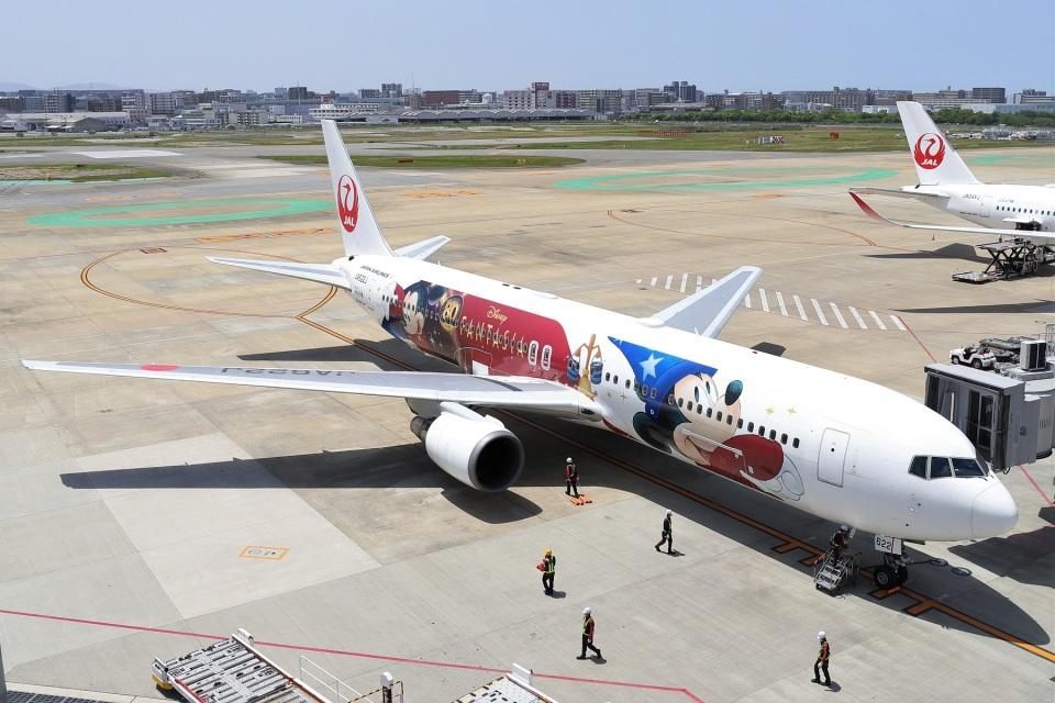 kan787allさんの日本航空 Boeing 767-300 (JA622J) 航空フォト