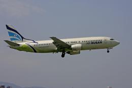 tsubameさんが、福岡空港で撮影したエアプサン 737-48Eの航空フォト(飛行機 写真・画像)