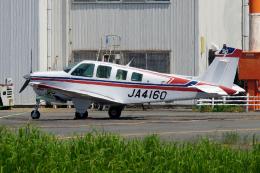 航空フォト:JA4160 エス・ジー・シー佐賀航空 36 Bonanza