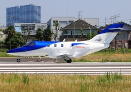 LOTUSさんが、八尾空港で撮影した日本個人所有 HA-420の航空フォト(飛行機 写真・画像)