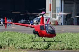 Mizuki24さんが、東京ヘリポートで撮影したアルファーアビエィション R22 Beta IIの航空フォト(飛行機 写真・画像)