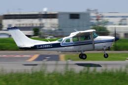 yabyanさんが、八尾空港で撮影した共立航空撮影 TU206G Turbo Stationair 6の航空フォト(飛行機 写真・画像)