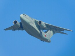 さんまるエアラインさんが、習志野演習場で撮影した航空自衛隊 C-2の航空フォト(飛行機 写真・画像)