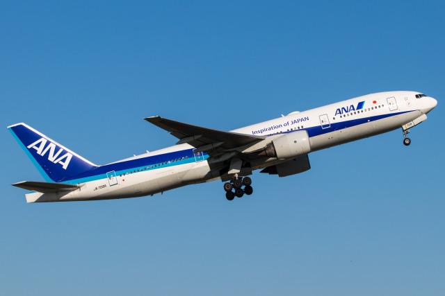 航空フォト:JA708A 全日空 777-200