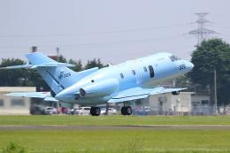 レガシィさんが、宇都宮飛行場で撮影した航空自衛隊 U-125A(Hawker 800)の航空フォト(飛行機 写真・画像)