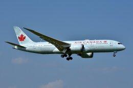 islandsさんが、成田国際空港で撮影したエア・カナダ 787-8 Dreamlinerの航空フォト(飛行機 写真・画像)