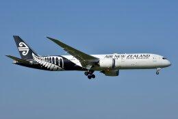 islandsさんが、成田国際空港で撮影したニュージーランド航空 787-9の航空フォト(飛行機 写真・画像)