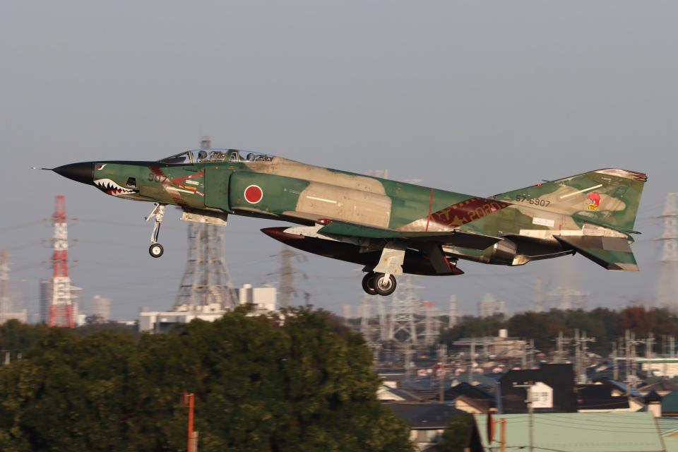シン・マリオ先輩さんの航空自衛隊 McDonnell Douglas RF-4E Phantom II (57-6907) 航空フォト