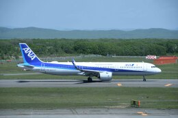 Re4/4さんが、新千歳空港で撮影した全日空 A321-272Nの航空フォト(飛行機 写真・画像)