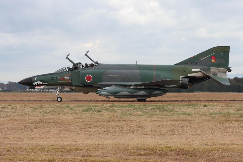 シン・マリオ先輩さんの航空自衛隊 Mitsubishi RF-4EJ Phantom II (77-6397) 航空フォト