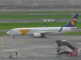 ながえいさんが、羽田空港で撮影したMIATモンゴル航空 737-8SHの航空フォト(飛行機 写真・画像)
