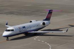 磐城さんが、仙台空港で撮影したアイベックスエアラインズ CL-600-2B19 Regional Jet CRJ-100LRの航空フォト(飛行機 写真・画像)