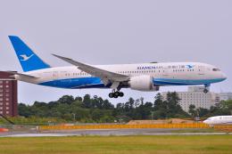 フリューゲルさんが、成田国際空港で撮影した厦門航空 787-8 Dreamlinerの航空フォト(飛行機 写真・画像)