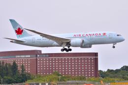 フリューゲルさんが、成田国際空港で撮影したエア・カナダ 787-8 Dreamlinerの航空フォト(飛行機 写真・画像)