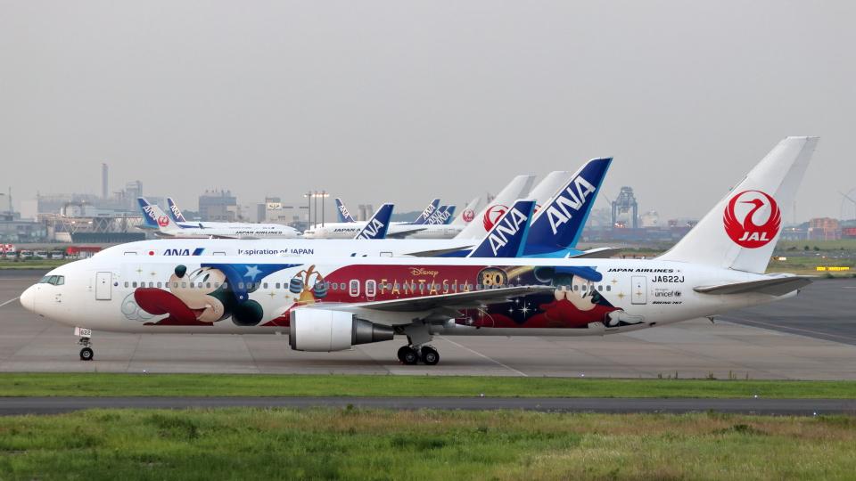 誘喜さんの日本航空 Boeing 767-300 (JA622J) 航空フォト