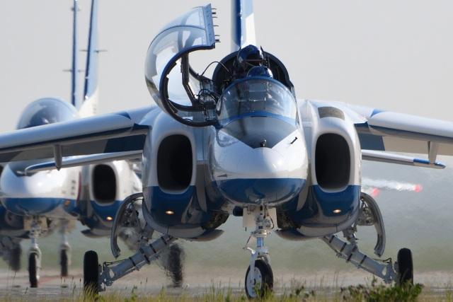 Mark-5さんが、松島基地で撮影した航空自衛隊 T-4の航空フォト(飛行機 写真・画像)