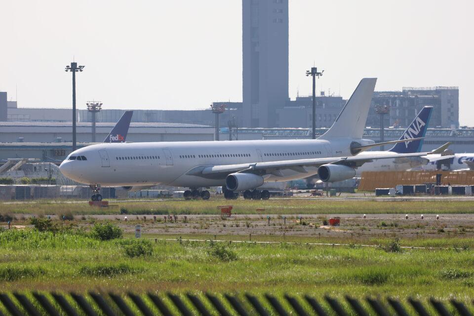 maru74さんのハイ・フライ・マルタ Airbus A340-300 (9H-FOX) 航空フォト