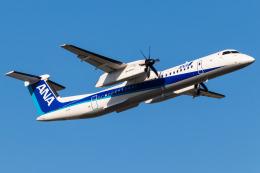 Yukio a.k.a Yu Worksさんが、福岡空港で撮影したANAウイングス DHC-8-402Q Dash 8の航空フォト(飛行機 写真・画像)