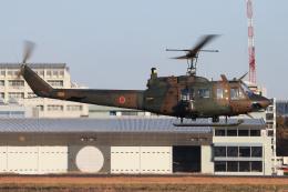 シン・マリオ先輩さんが、立川飛行場で撮影した陸上自衛隊 UH-1Jの航空フォト(飛行機 写真・画像)
