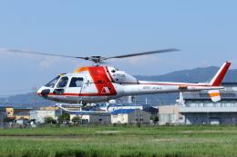 よっしぃさんが、八尾空港で撮影した朝日航洋 AS355F2 Ecureuil 2の航空フォト(飛行機 写真・画像)