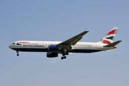 NIKEさんが、ロンドン・ヒースロー空港で撮影したブリティッシュ・エアウェイズ 767-336/ERの航空フォト(飛行機 写真・画像)