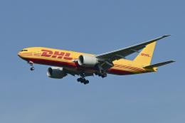 パンダさんが、成田国際空港で撮影したDHL 777-Fの航空フォト(飛行機 写真・画像)