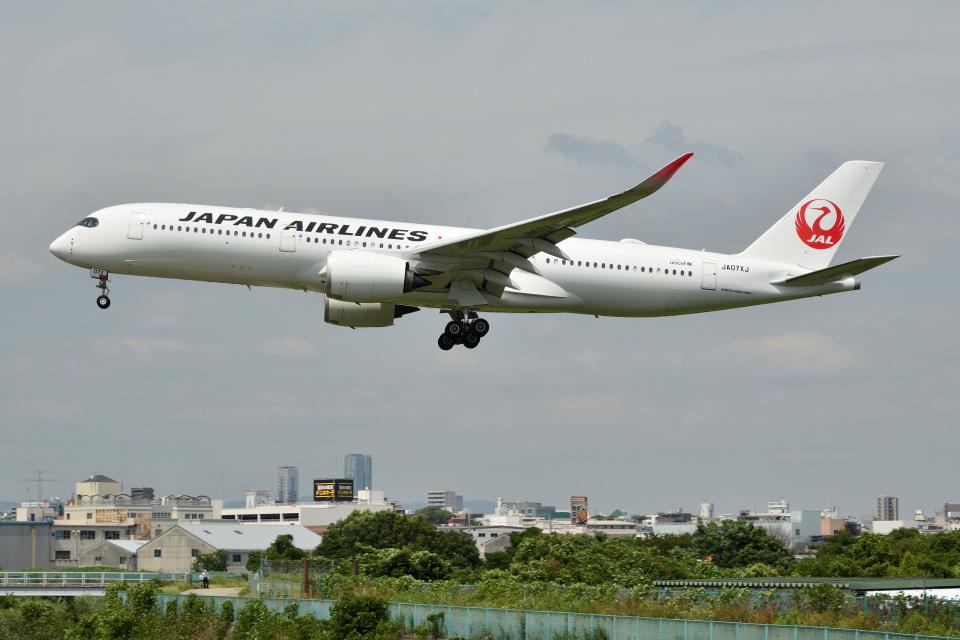 @たかひろさんの日本航空 Airbus A350-900 (JA07XJ) 航空フォト