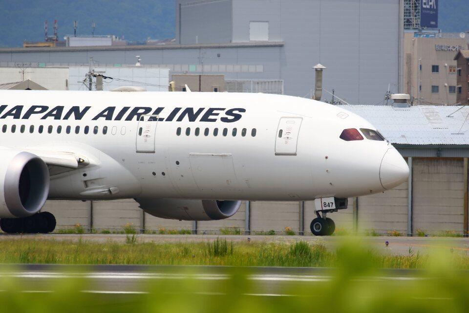 khideさんの日本航空 Boeing 787-8 Dreamliner (JA847J) 航空フォト