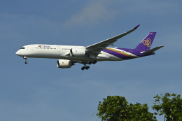 パンダさんが、成田国際空港で撮影したタイ国際航空 A350-941の航空フォト(飛行機 写真・画像)